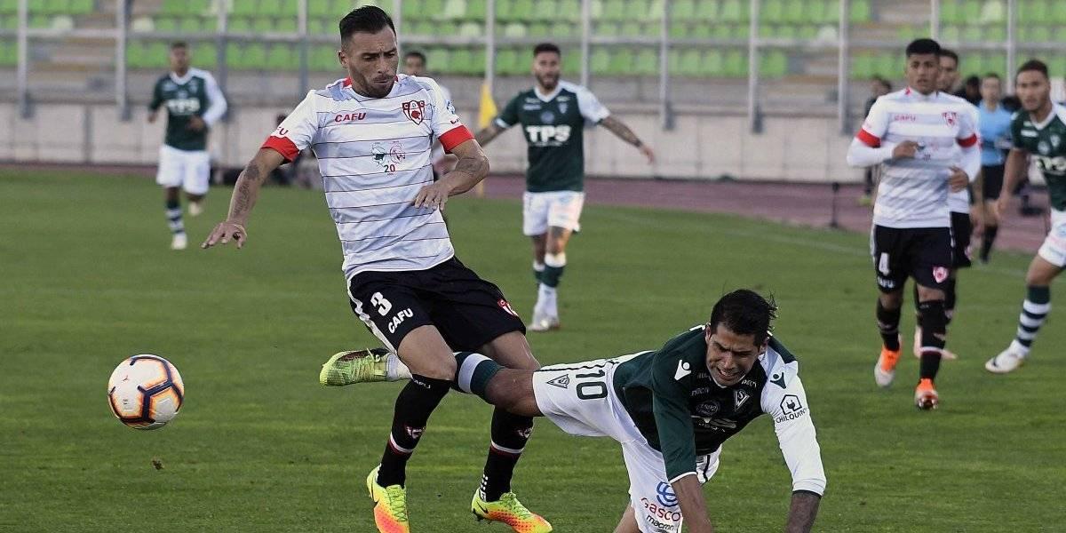 Santiago Wanderers cae ante Copiapó y se aleja de la punta de la Primera B