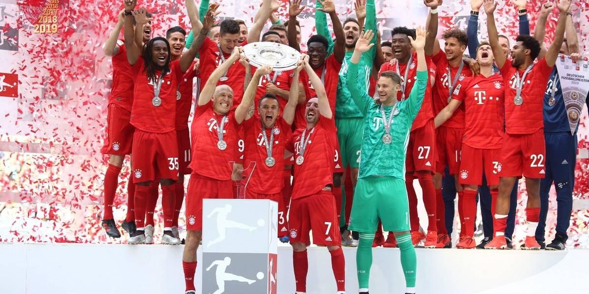 Bayern Munich confirma su dominio absoluto en Alemania y gana su séptima Bundesliga consecutiva