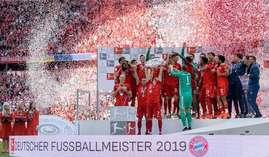 Bayern Munich campeón de la Bundesliga 2019