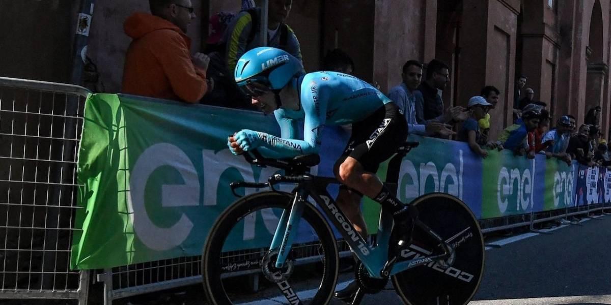 La contrarreloj del Giro de Italia dejó muy lejos a Miguel Ángel López