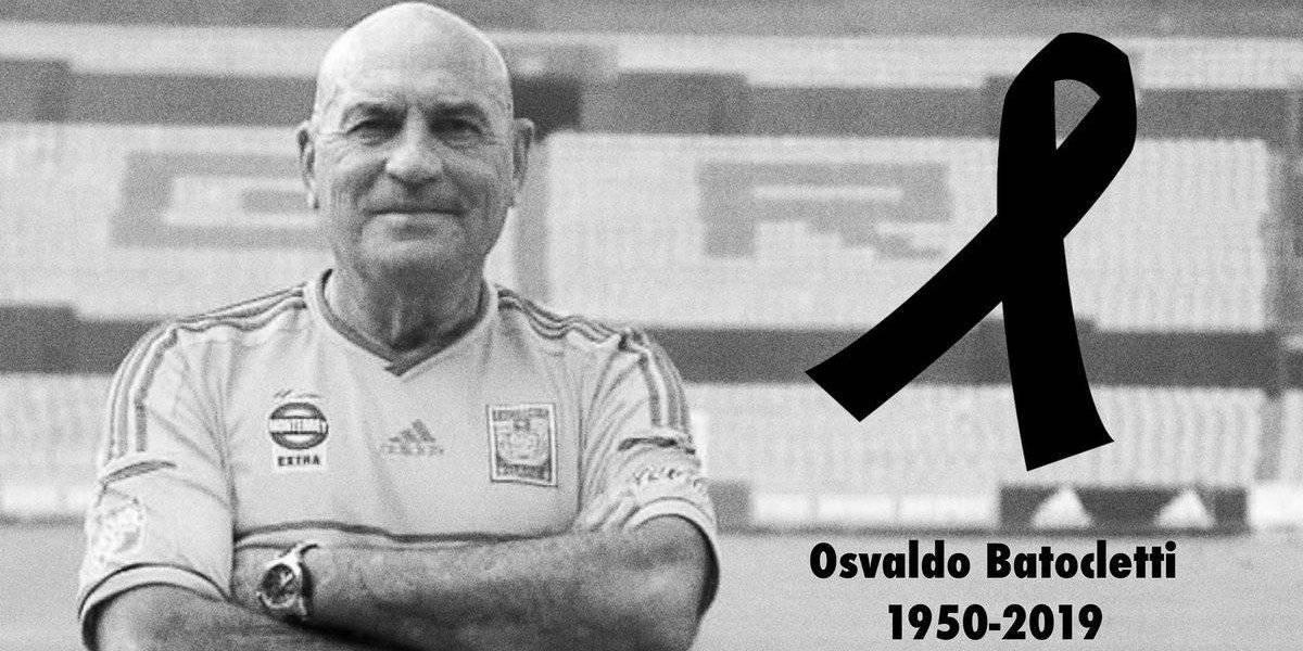 Falleció Osvaldo Batocletti, ícono de Tigres