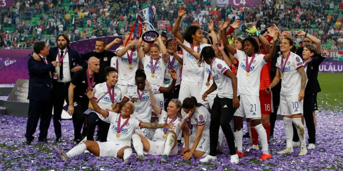 Olympique de Lyon golea al Barça y gana su cuarta Champions League femenina consecutiva