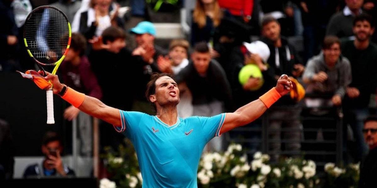Nadal se venga de Tsitsipas y pasa a la final del Masters 1.000 de Roma