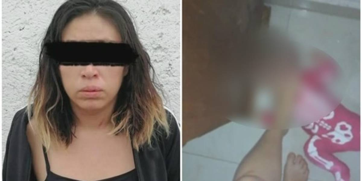 ¡Indignante! Madre grababa terribles torturas que propinaba a su bebé