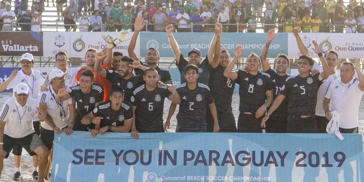 ¡¿Otro?! México de Playa es campeón del Premundial de la Concacaf