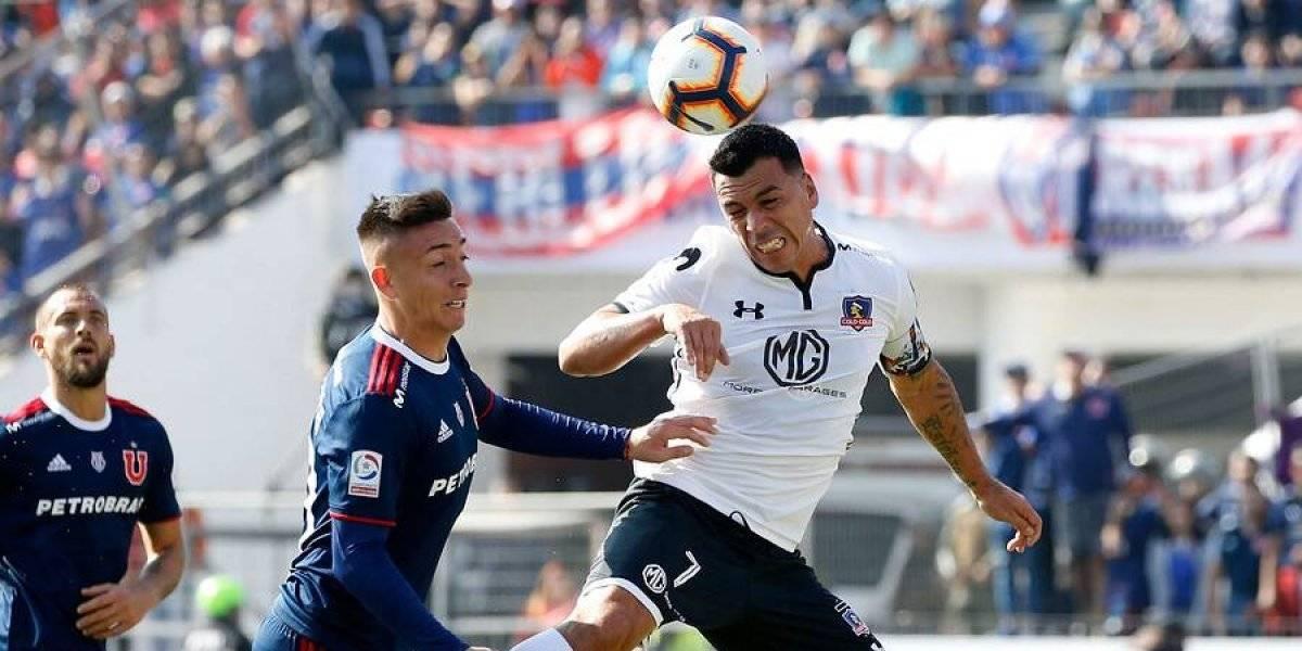 """El lesionado Paredes quedó con gusto a poco: """"La U puso garra y ganas, pero luego Colo Colo fue superior"""""""