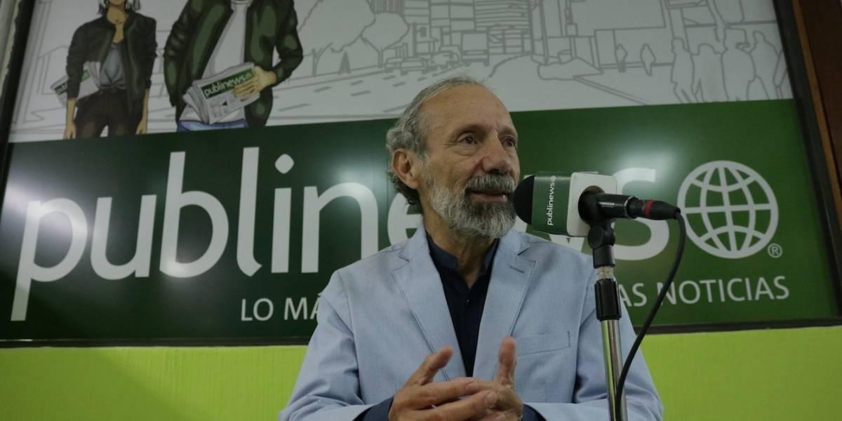 """El agua potable está privatizada"", Álvaro Véliz candidato a alcalde del partido Semilla"