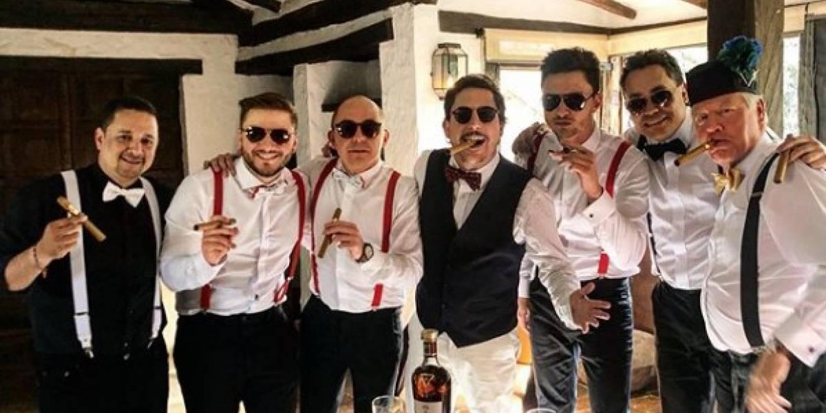 Así fue la boda de Juanpis González en el norte de Bogotá