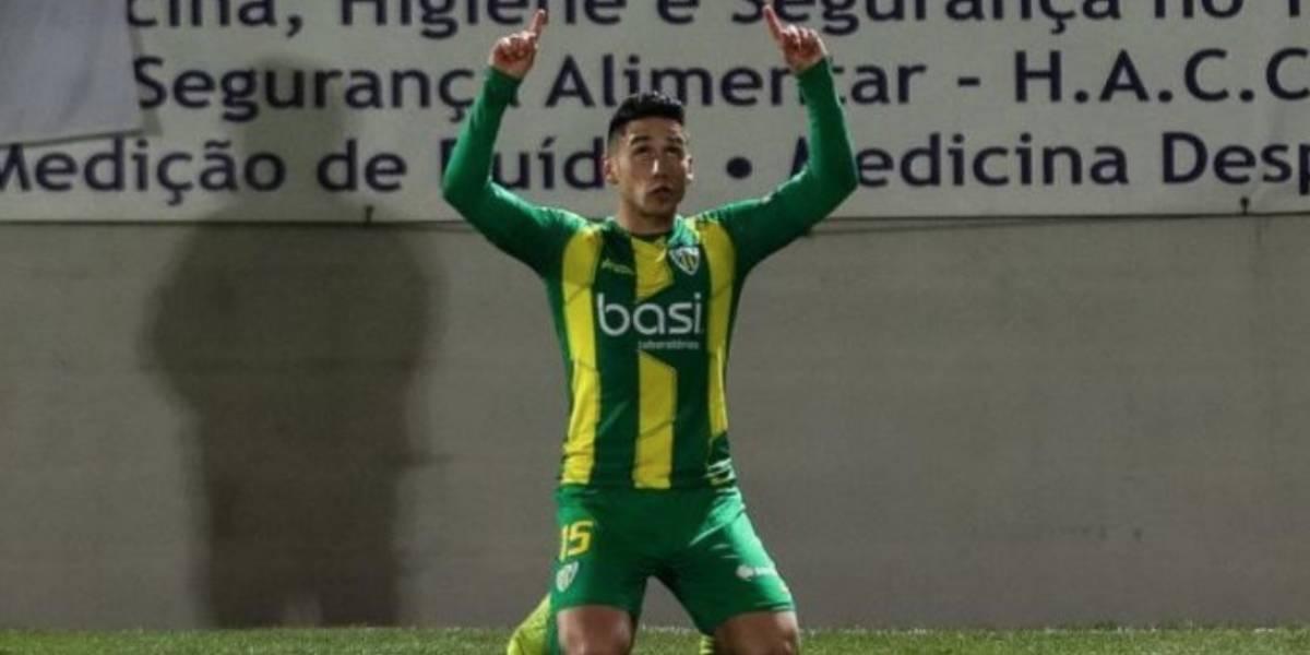Juan Delgado marcó un gol y ayudó al Tondela a salvarse del descenso en Portugal