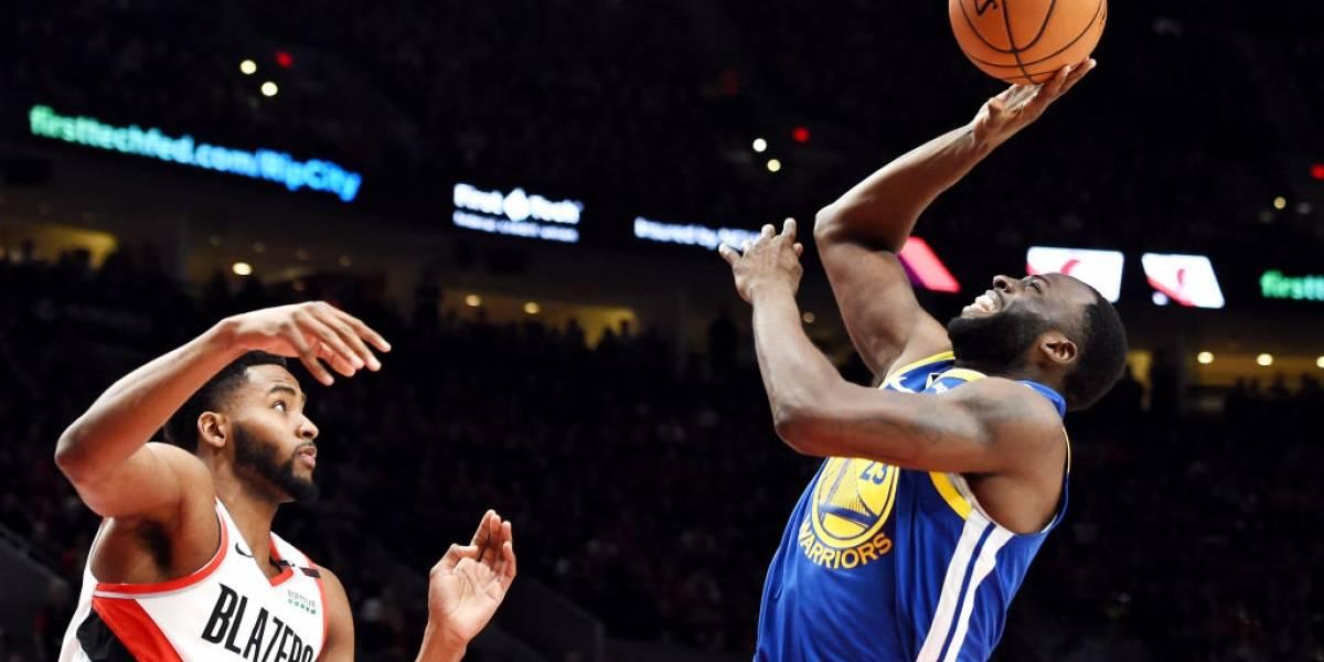 NBA: Golden State supera a Portland y queda a un triunfo de avanzar a las Finales por quinto año consecutivo