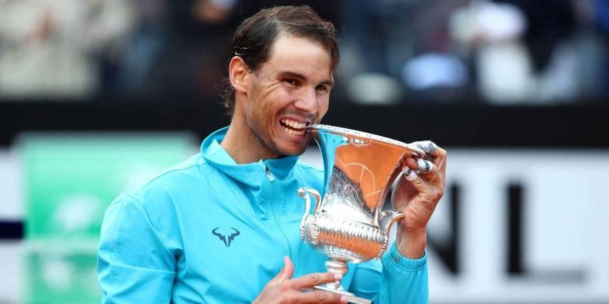 Volvió el rey de la arcilla: Nadal derrotó a Djokovic y se quedó con el Master 1000 de Roma