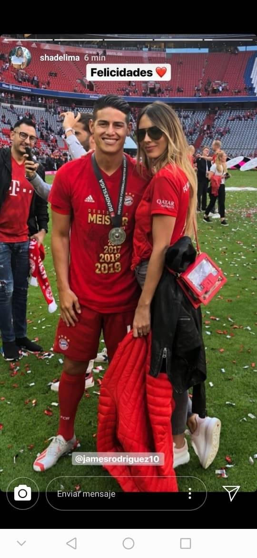 James y Shannon de Lima