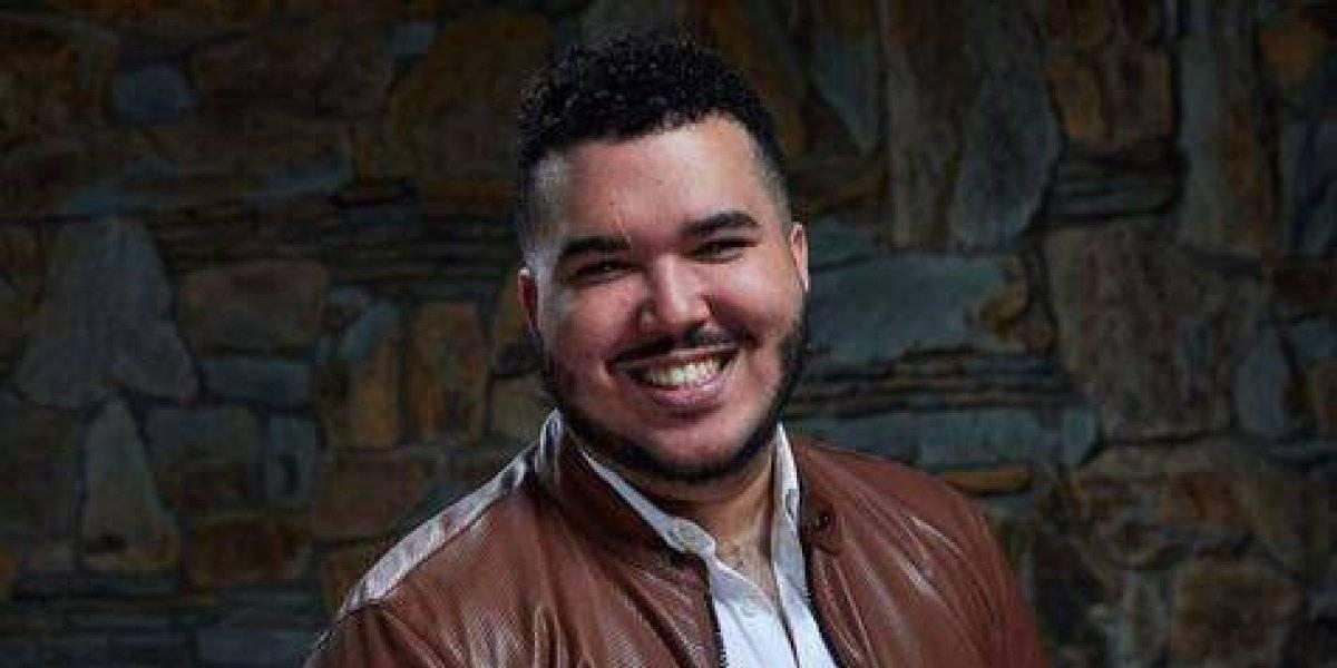 León Yamil feliz en su faceta de compositor