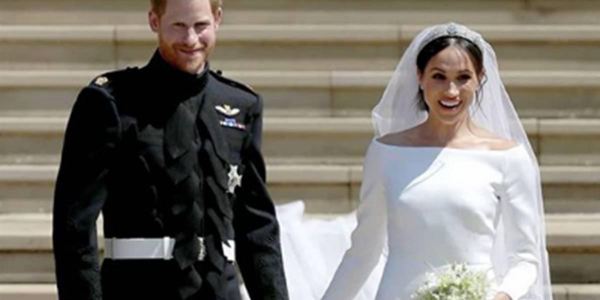 Las imágenes nunca antes vistas de la boda de Meghan Markle y el príncipe Harry reveladas en su primer aniversario