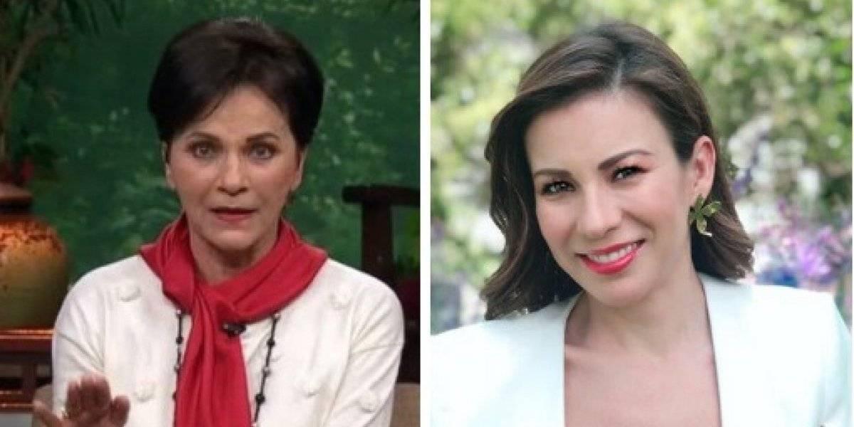 Pati Chapoy aclara la visita de Ingrid Coronado a Televisa