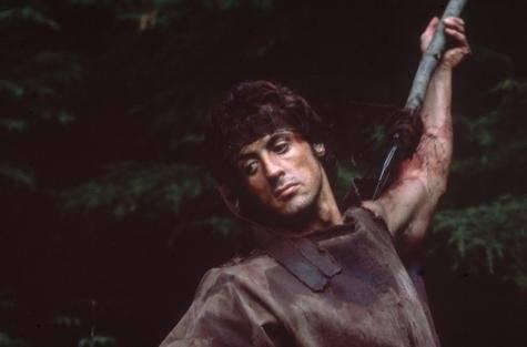 Rambo en la Croisette