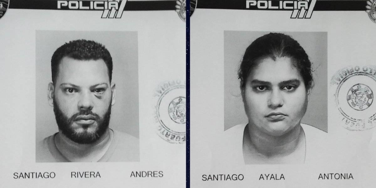 Ingresan a cárcel matrimonio envuelto en incidente de violencia contra mayores de edad