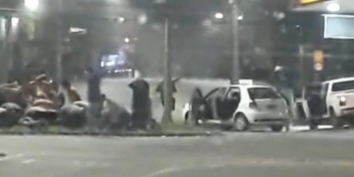 Quadrilha faz reféns e assalta banco em madrugada de terror em Pouso Alegre (MG)