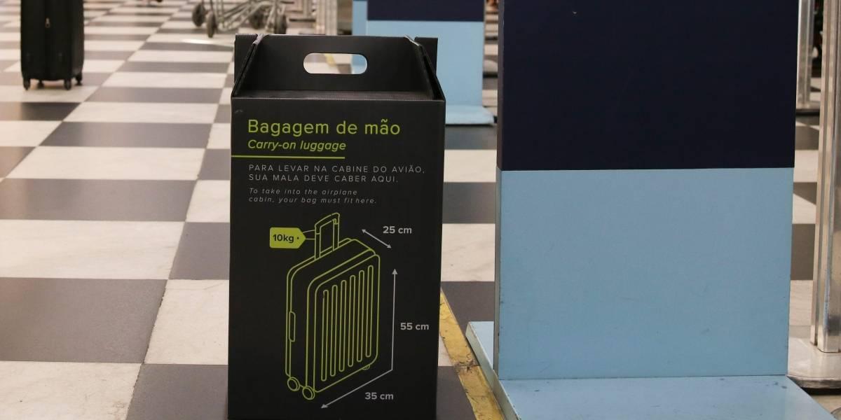 Bagagem de mão fora do padrão será barrada no aeroporto de Guarulhos a partir de quinta