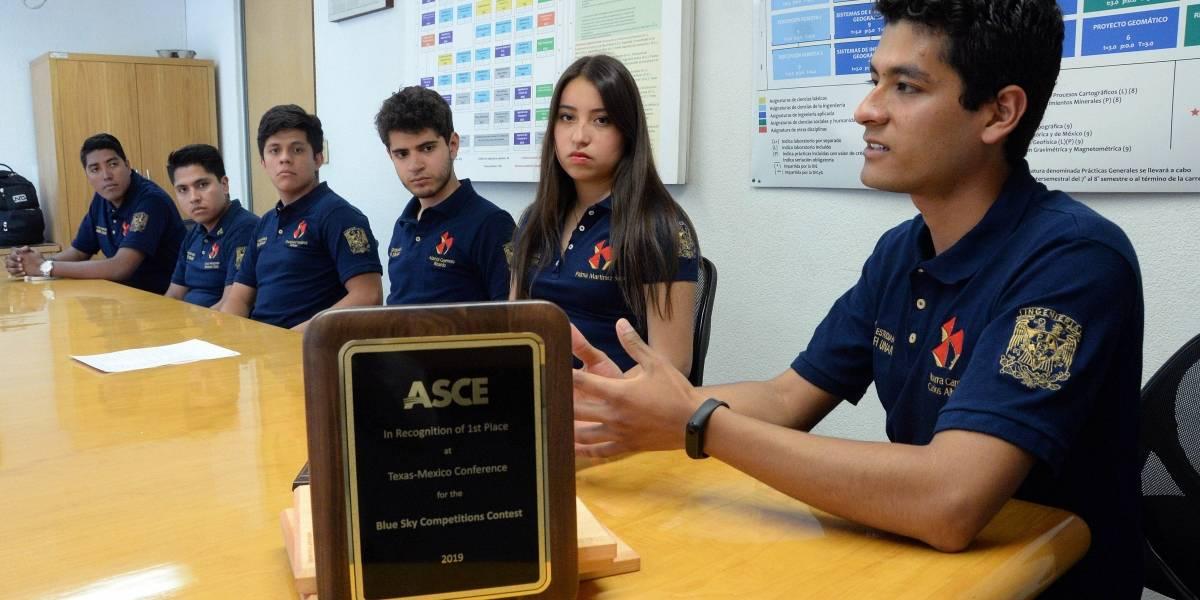 Alumnos de la UNAM ganan primer lugar en concurso internacional de ingeniería
