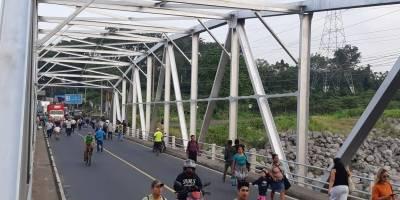 bloqueo de militares retirados en El Zarco, Retalhuleu