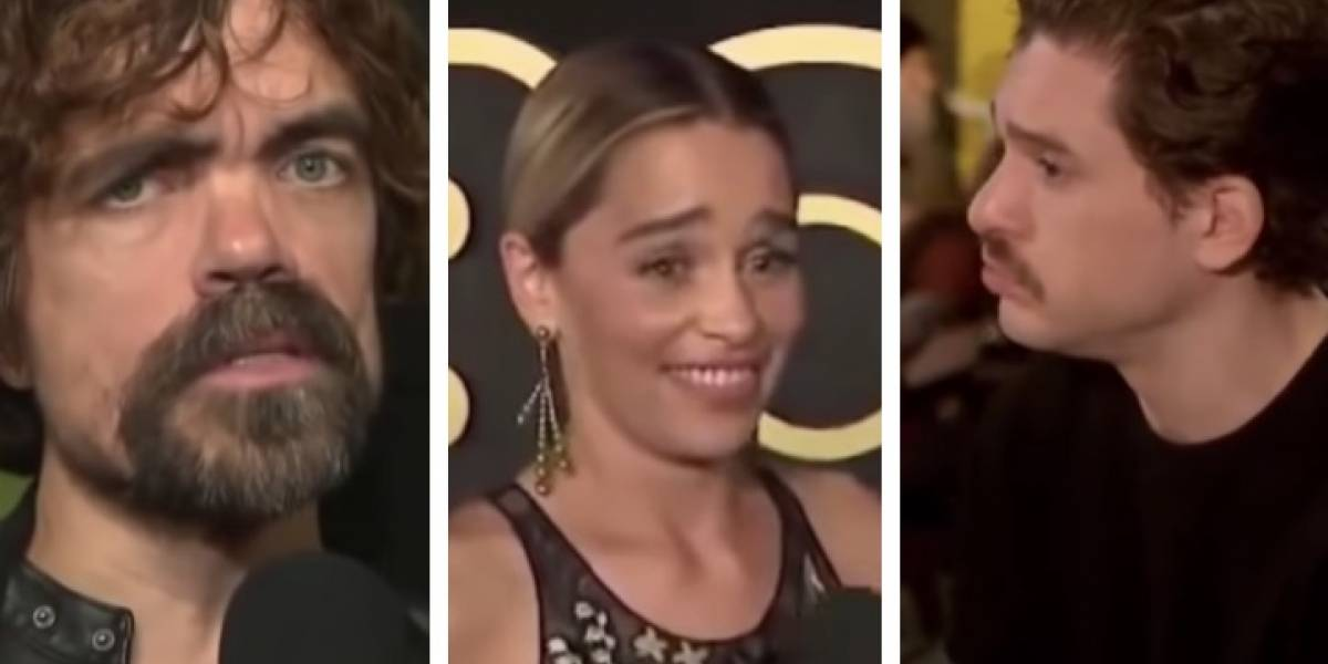 """Las caras y comentarios de los actores de """"Game of Thrones"""" que adelantaban que el final no sería tan bueno"""