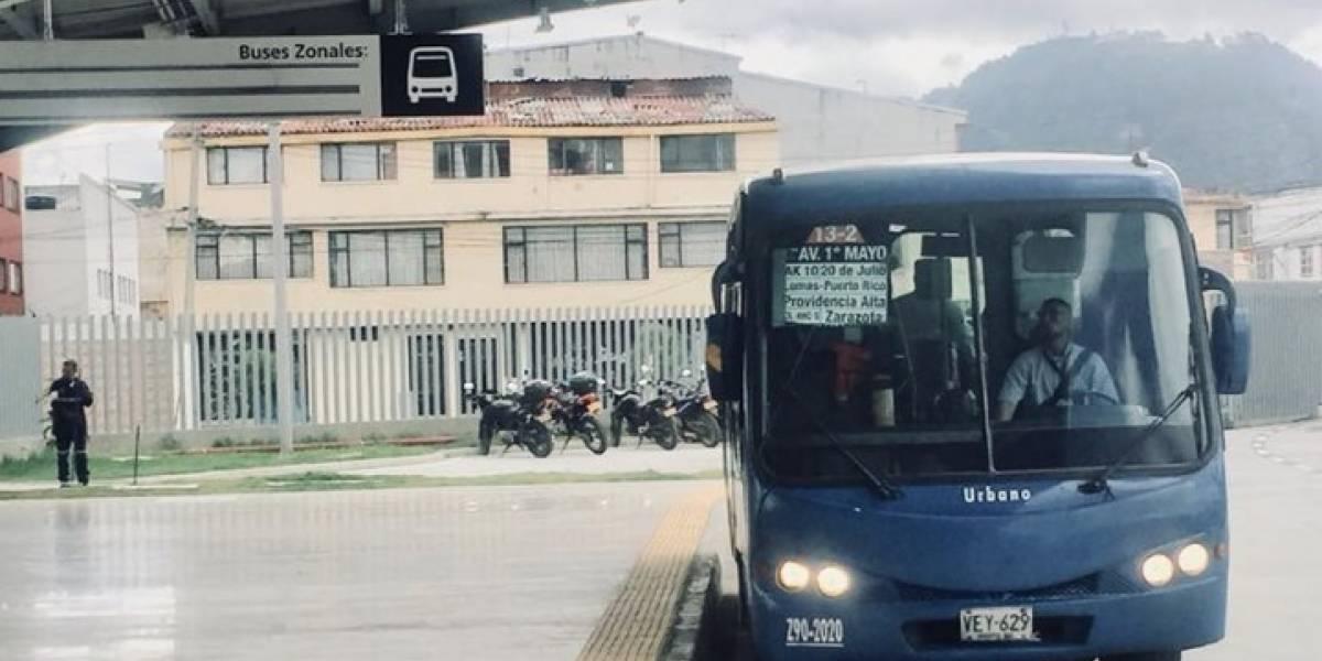 Como de película: así capturaron a ladrones de buses del SITP en Engativá