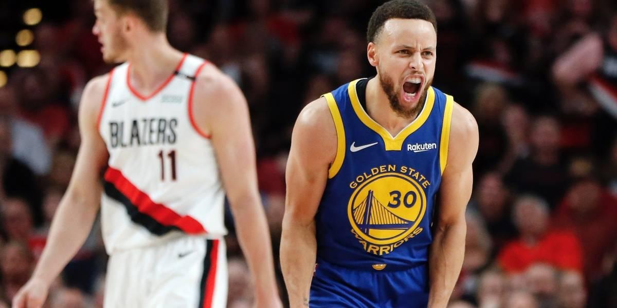 ¿Campeones? Los Warriors tienen la posibilidad de poner punto final a la serie contra Blazers