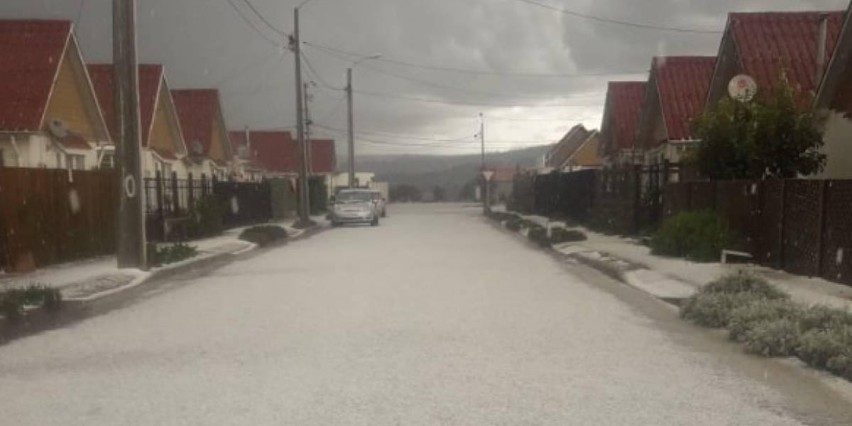 Lluvias y nevazones afectan la Región del Maule