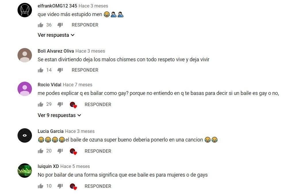 Comentarios video Ozuna