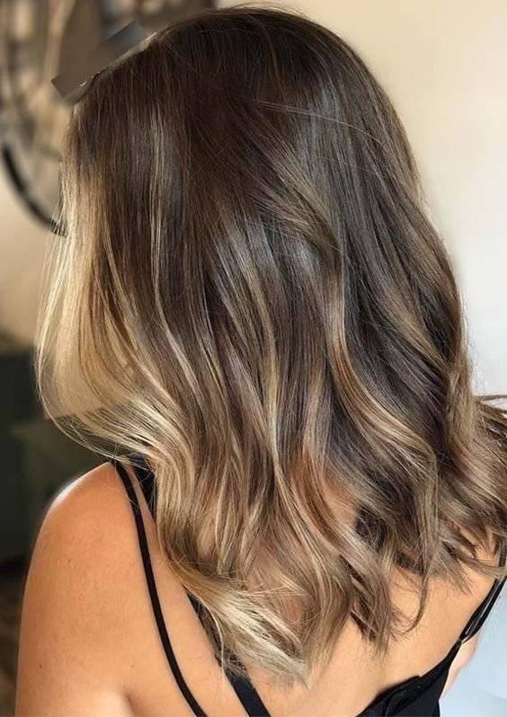 luces en el cabello 2019