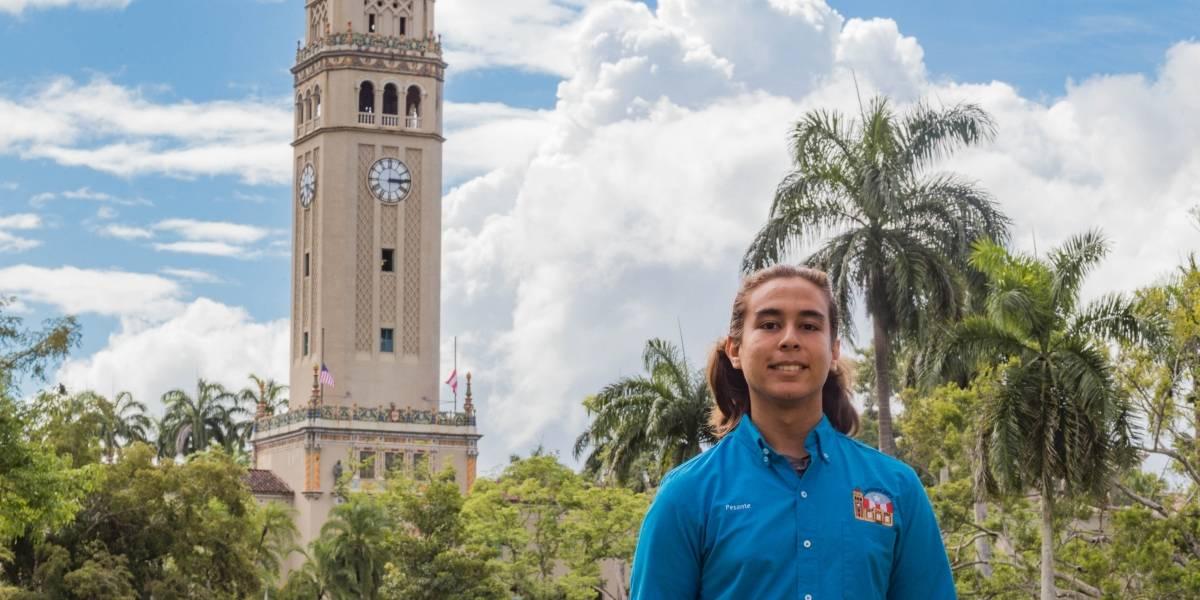 Estudiante de la UHS recibirá prestigiosa beca