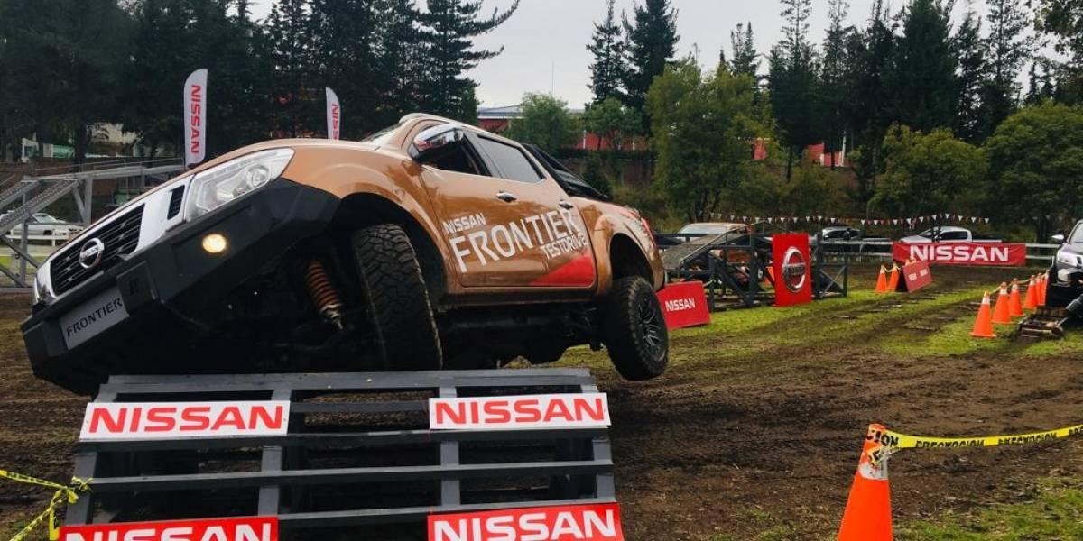 Nissan mostró su tecnología y fuerza en la Feria Macají