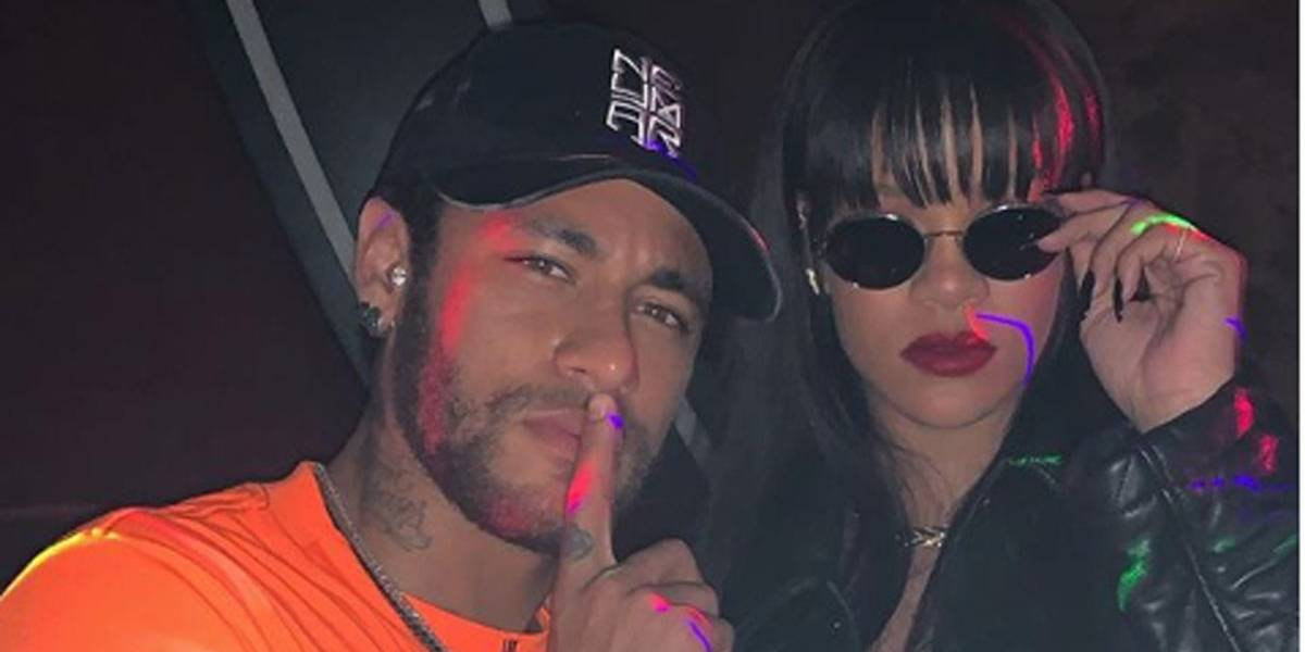 Neymar deixou de prestigiar Mbappe para encontrar Rihanna, diz site