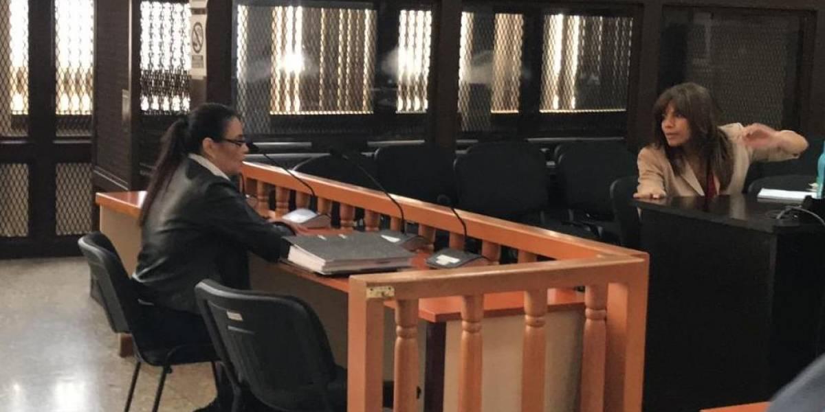 Baldetti se excusa para no asistir a audiencia; juez ordena que sea trasladada