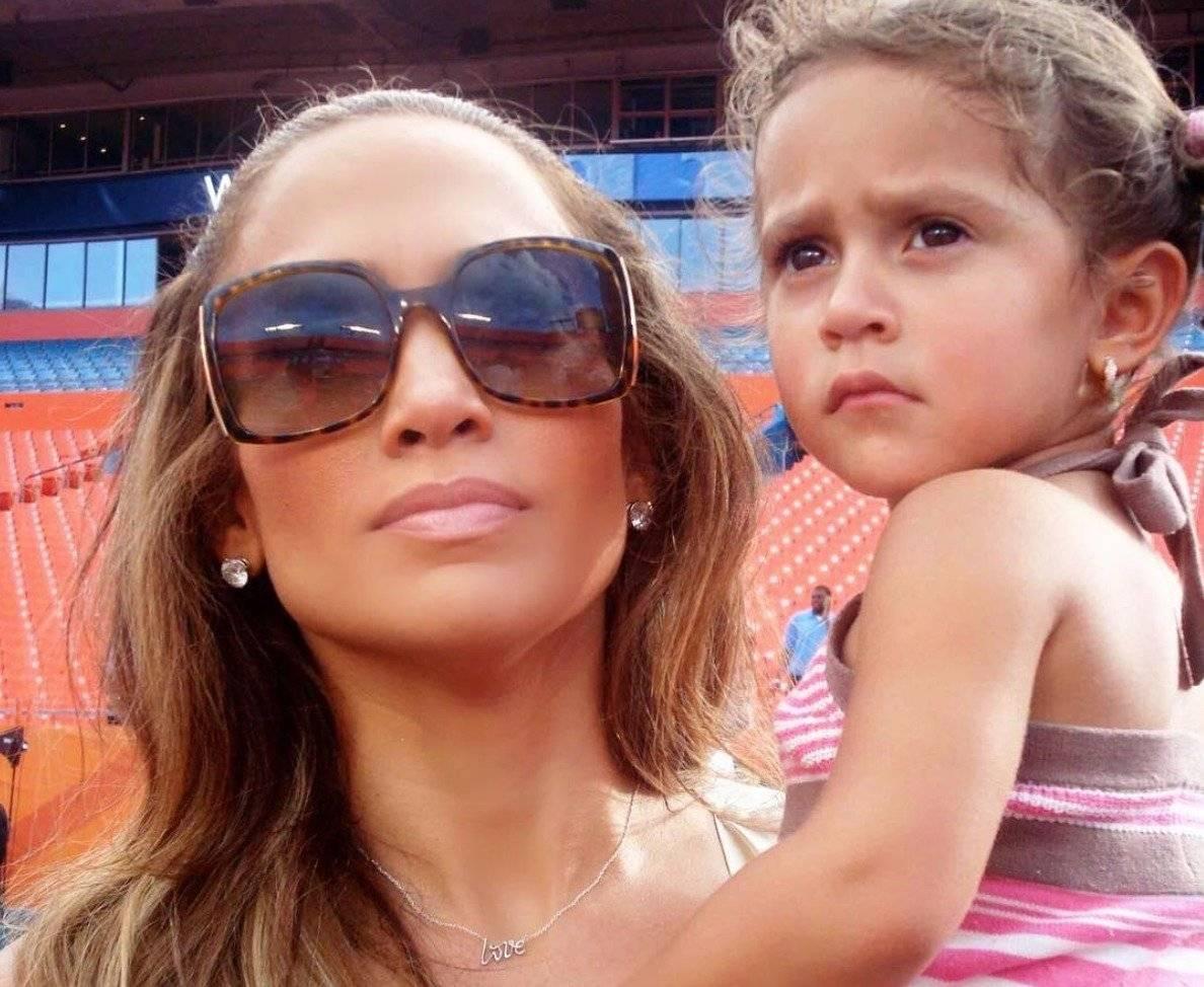 Hija de JLo y Marc Anthony