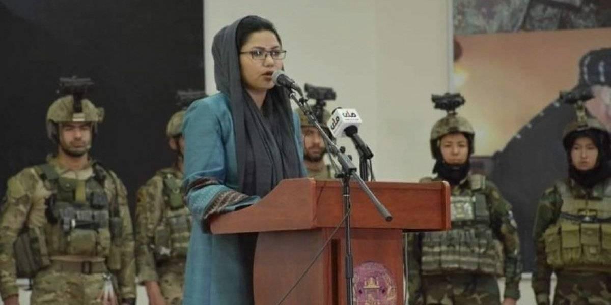 Por primera vez, Afganistán nombra a una mujer como viceministra de Defensa