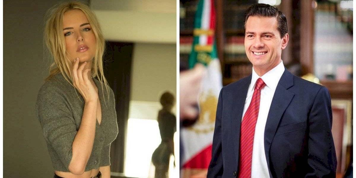 Tania Ruiz, novia de Peña Nieto 'vende' zapatos en León