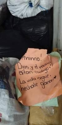 Mensajes de apoyo a damnificados por erupción