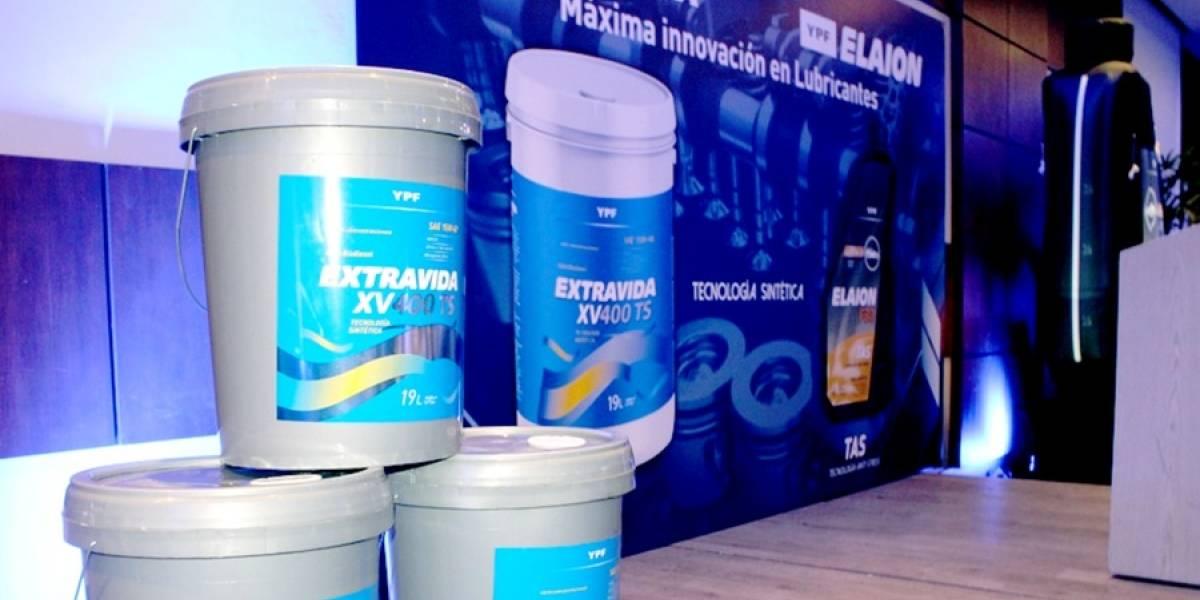 YPF presentó nueva línea de lubricantes