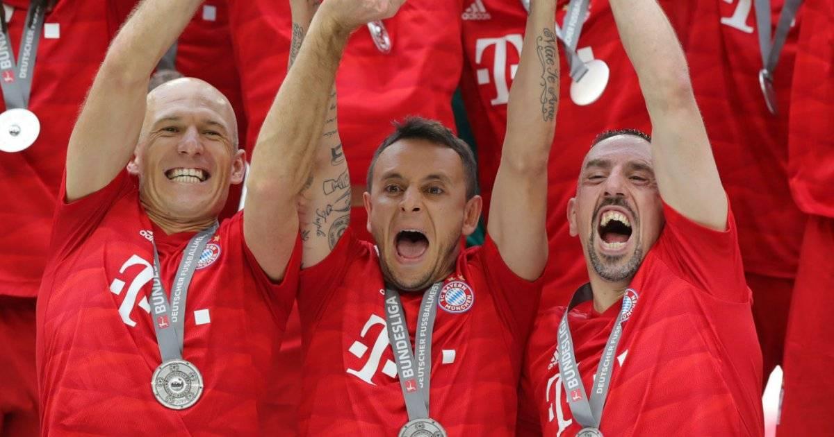 Rafinha, Ribéry e Robben