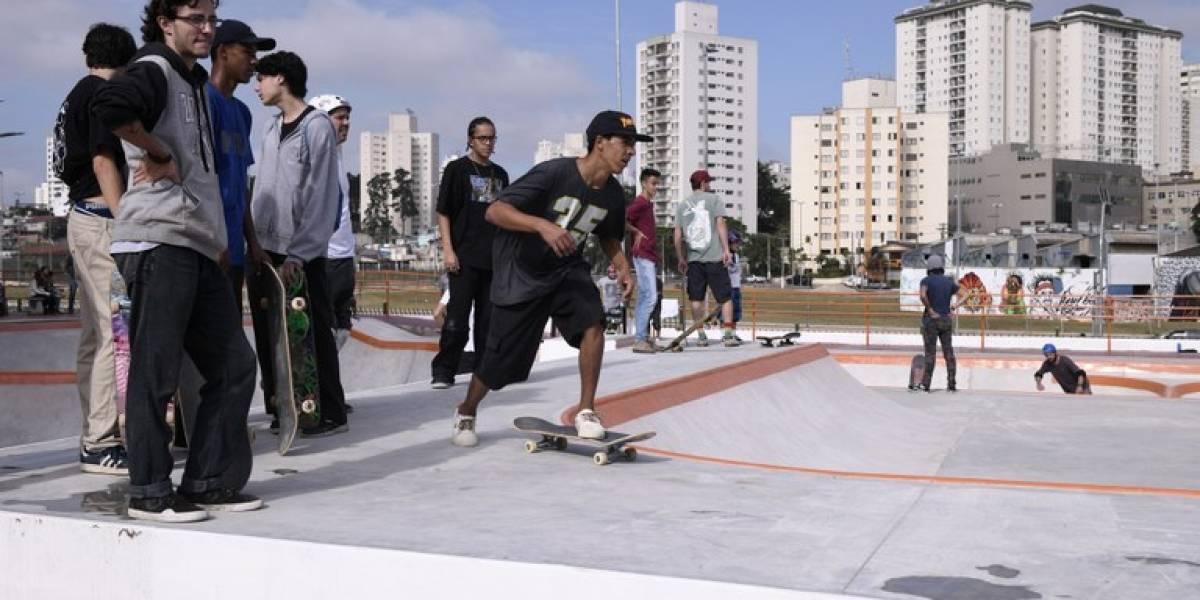 Prefeitura inaugura uma das maiores pistas de skate de São Paulo, no Parque do Chuvisco