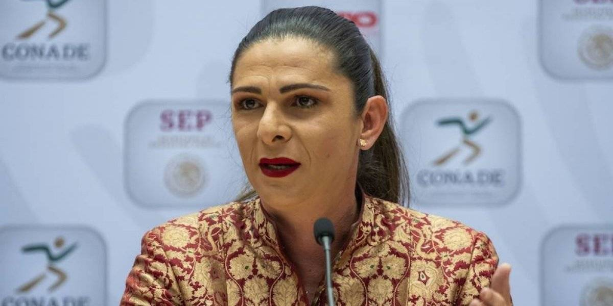 Conade no se involucrará en dopaje de Lupita González, anuncia Ana Guevara