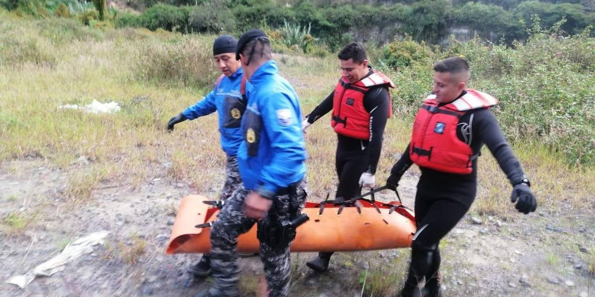 Quito: Hallaron un cuerpo sin vida en el río San Pedro, valle de Los Chillos
