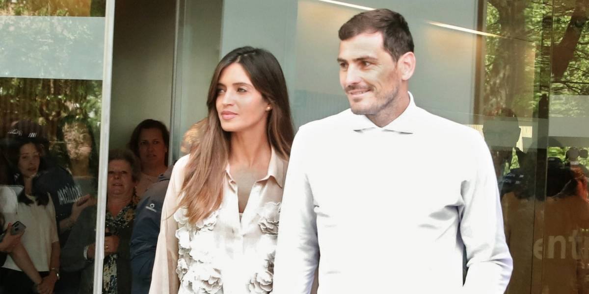 Sara Carbonero, pareja de Iker Casillas, fue operada de cáncer de ovarios