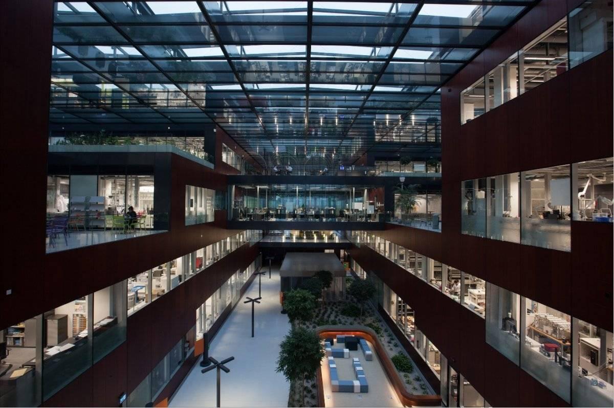 El cubo de ciencia de PMI en Suiza Cortesía