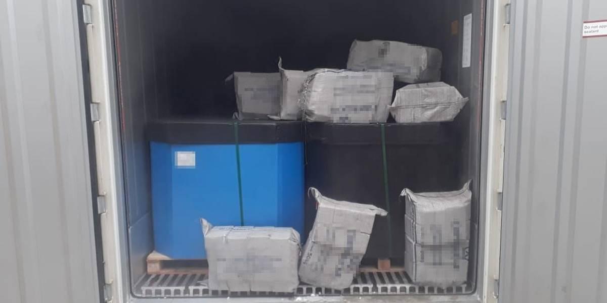 Droga: 500 kg de cocaína deveriam sair de Santos para a Holanda