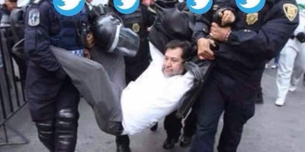 México: Diputado Noroña va a las oficinas de Twitter y termina gritándole a un empleado