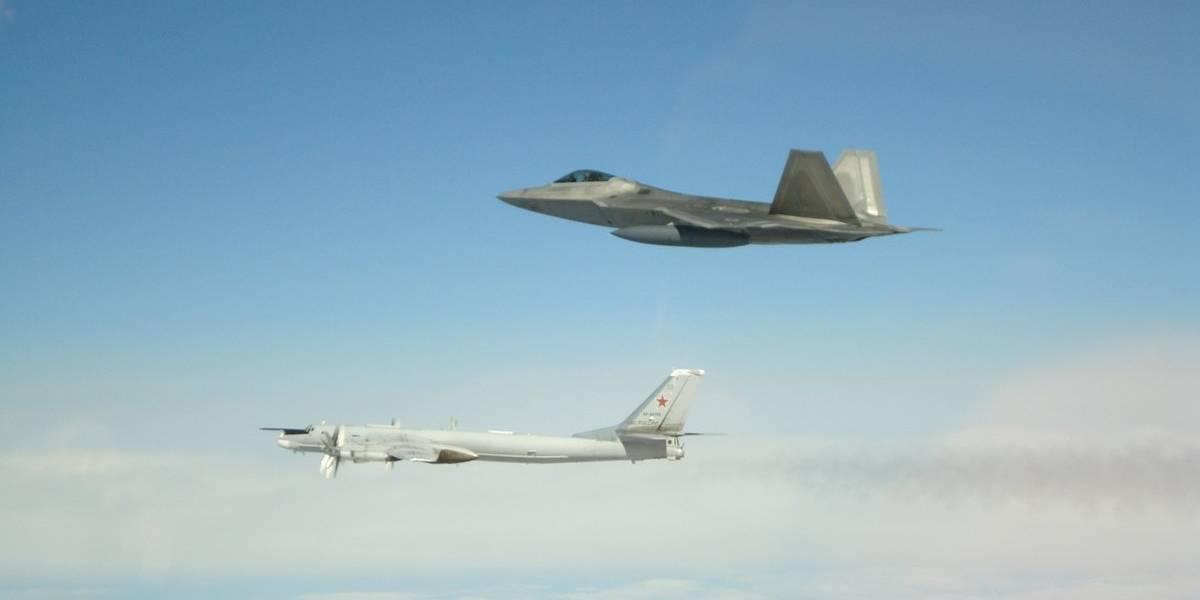 Defesa americana intercepta seis aeronaves de guerra russas próximas à fronteira do país