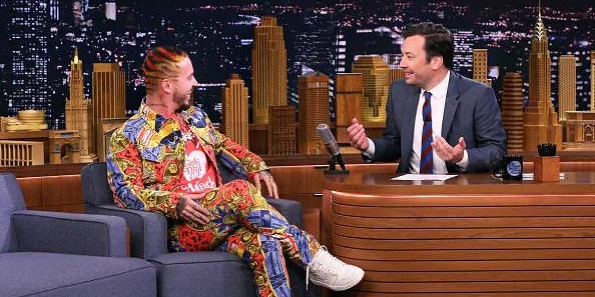 Histórico: J Balvin en The Tonight Show Starring Jimmy Fallon